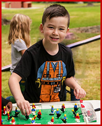 LA SF Valley and OC kids love Playparty lego and race car parties
