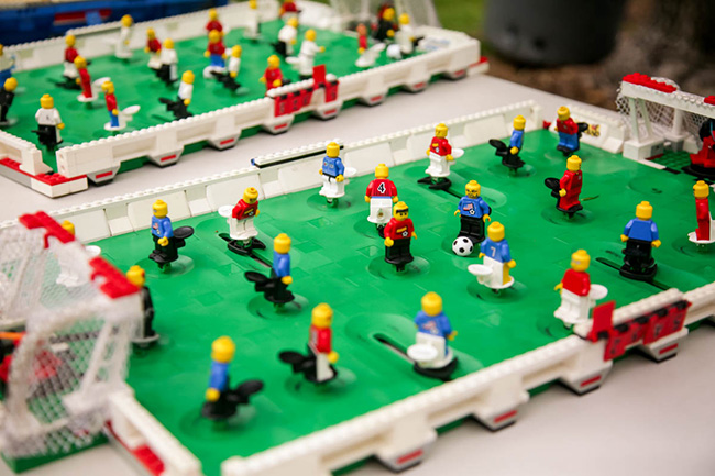 LEGO soccer games come with the Best Lego Party
