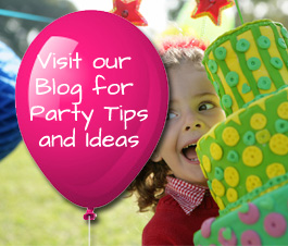 visit our Party Tips and Ideas Blog to make your child's next party a hit!